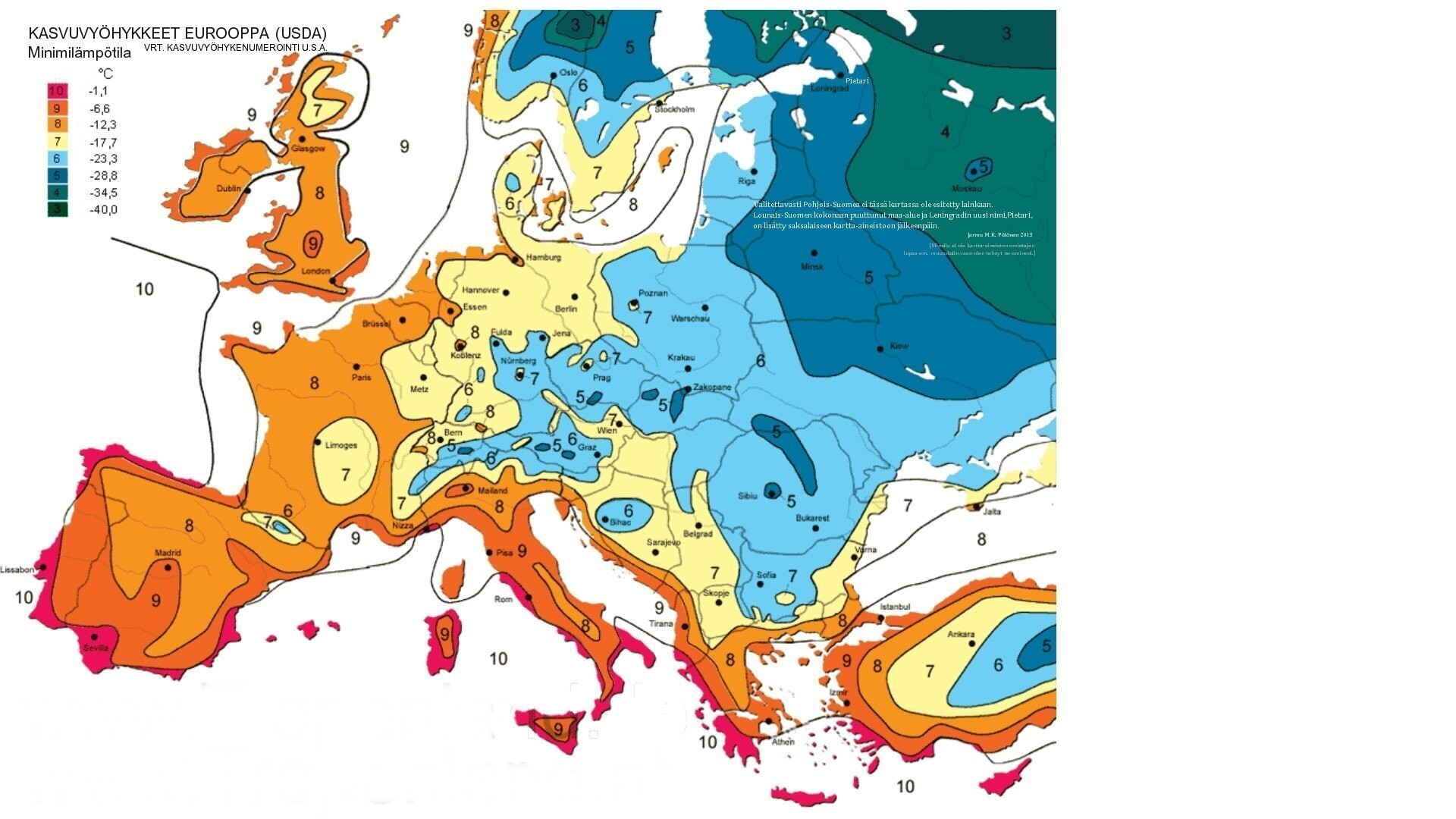 Euroopan kasvuvyöhykkeet